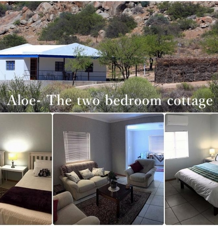 Aloe - Self Catering Two-bedroom Cottage